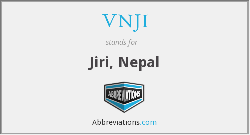 What does VNJI stand for?