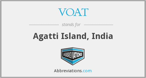 What does VOAT stand for?