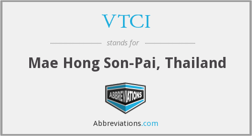 What does VTCI stand for?
