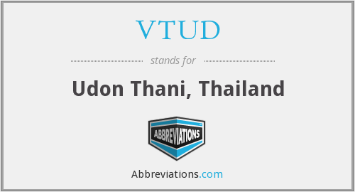 What does VTUD stand for?