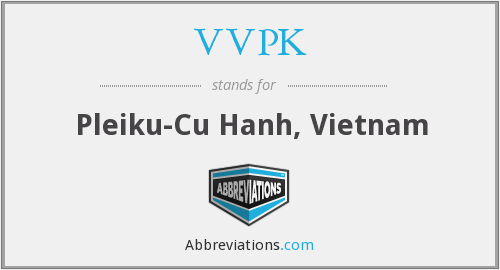 What does VVPK stand for?