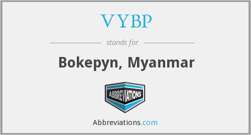What does VYBP stand for?