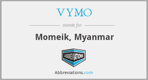 What does VYMO stand for?
