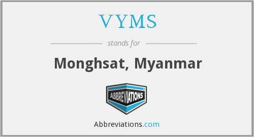 What does VYMS stand for?