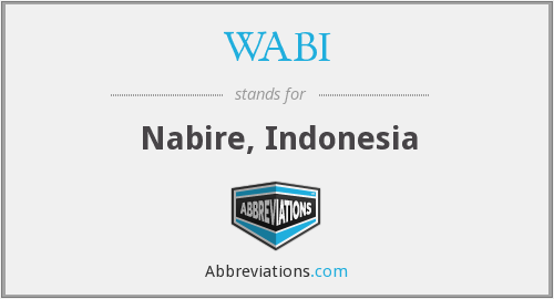 What does WABI stand for?