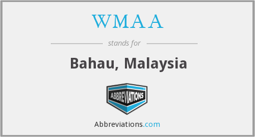 What does WMAA stand for?