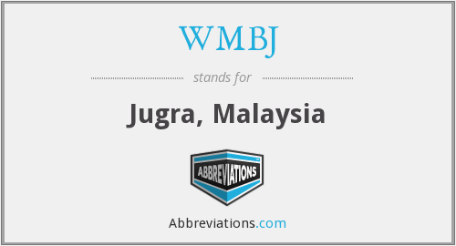 What does WMBJ stand for?