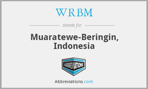 What does WRBM stand for?