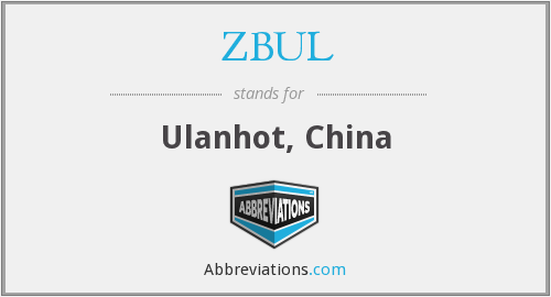What does ZBUL stand for?