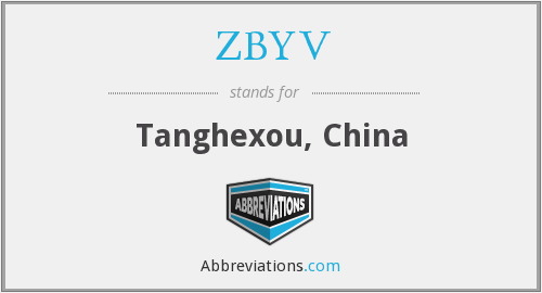 What does ZBYV stand for?