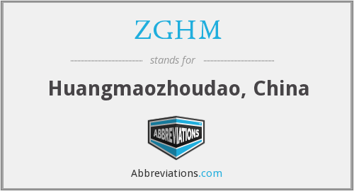 What does ZGHM stand for?