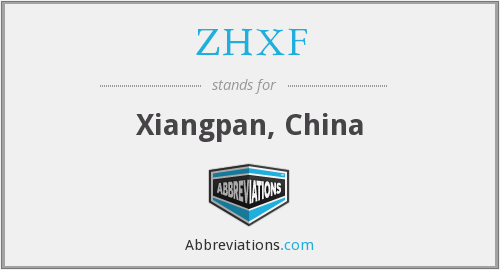 What does ZHXF stand for?