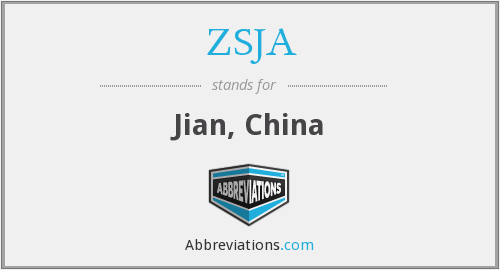 What does ZSJA stand for?