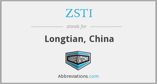 What does ZSTI stand for?