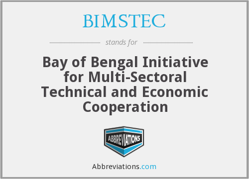 What does BIMSTEC stand for?