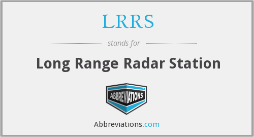 What does LRRS stand for?