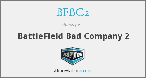 What does BFBC2 stand for?