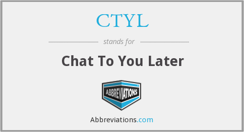What does CTYL stand for?