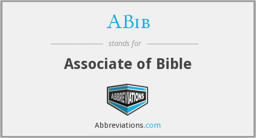 What does ABIB stand for?