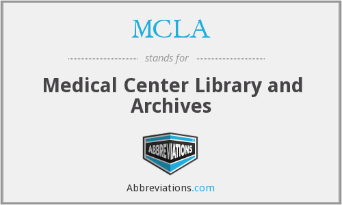What does MCLA stand for?