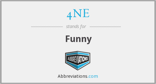 What does 4NE stand for?