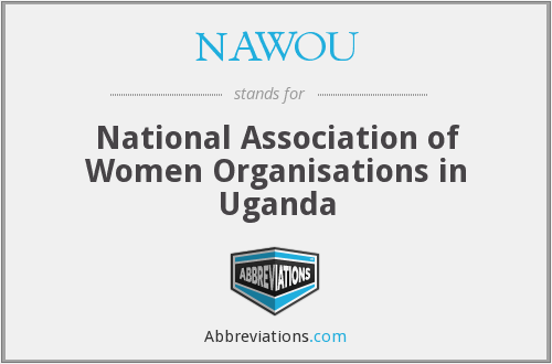 What does NAWOU stand for?