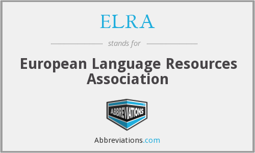 What does ELRA stand for?