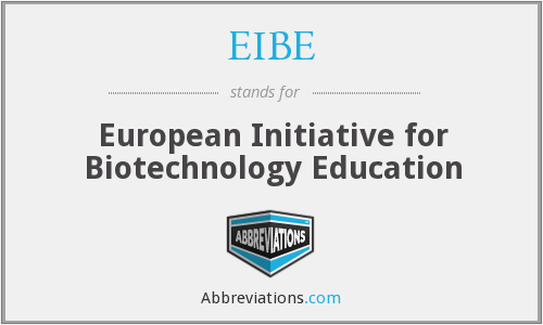 What does EIBE stand for?