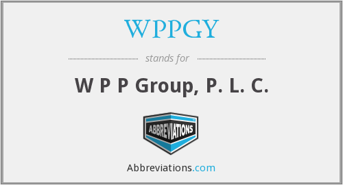 What does WPPGY stand for?