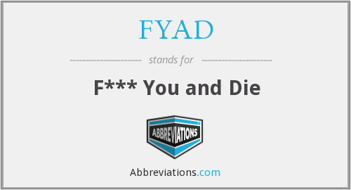 What does FYAD stand for?
