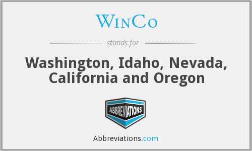 What does WINCO stand for?