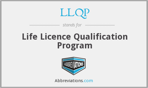 What does LLQP stand for?