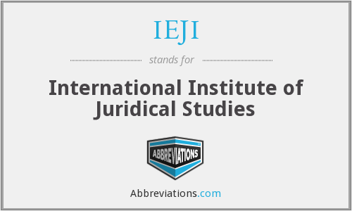 What does IEJI stand for?
