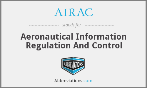What does AIRAC stand for?
