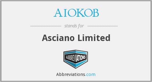 What does AIOKOB stand for?