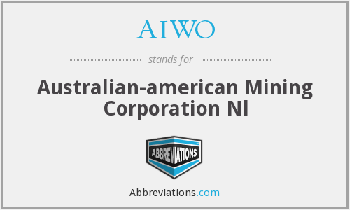 What does AIWO stand for?