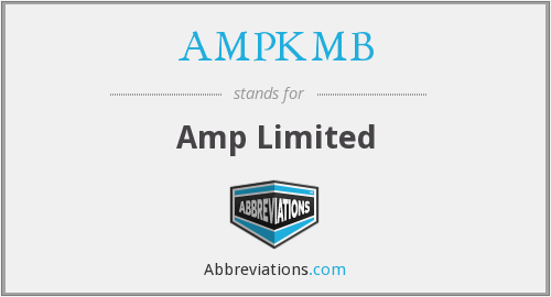 What does AMPKMB stand for?