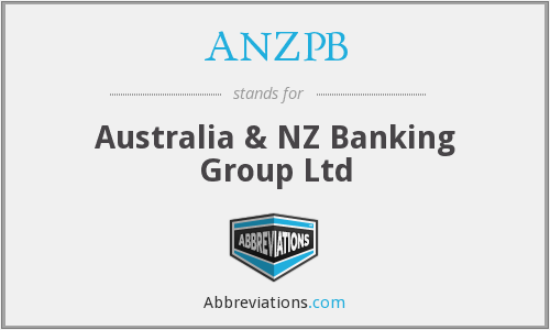 What does ANZPB stand for?