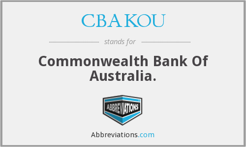 What does CBAKOU stand for?