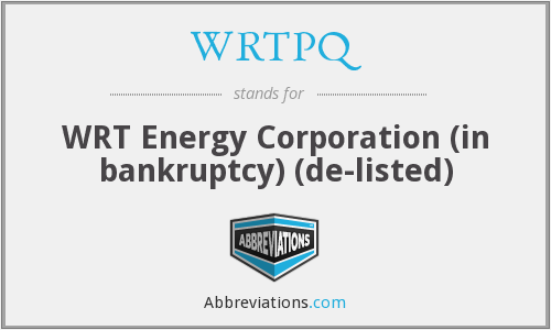 What does WRTPQ stand for?