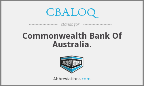 What does CBALOQ stand for?