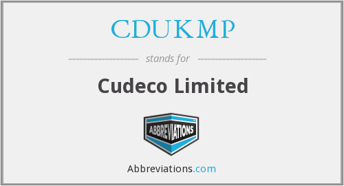What does CDUKMP stand for?