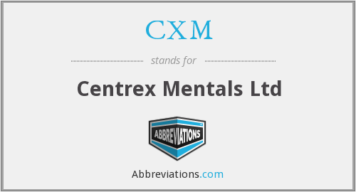 What does CXM stand for?