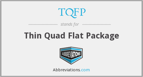 What does TQFP stand for?