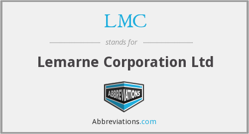 What does LMC stand for?