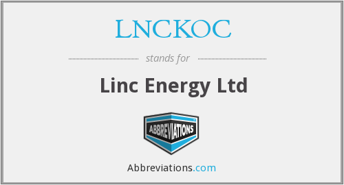 What does LNCKOC stand for?