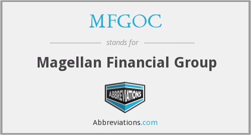 What does MFGOC stand for?