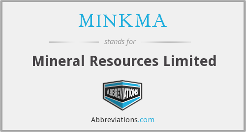 What does MINKMA stand for?