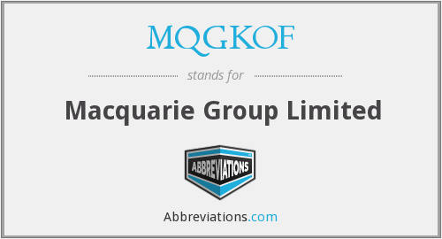 What does MQGKOF stand for?