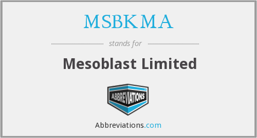 What does MSBKMA stand for?